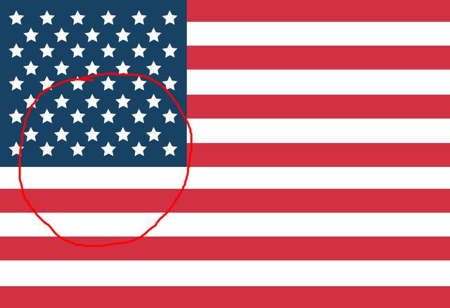 American flag1circle