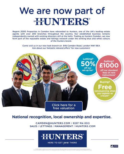 Hunters Estate Agents Camden
