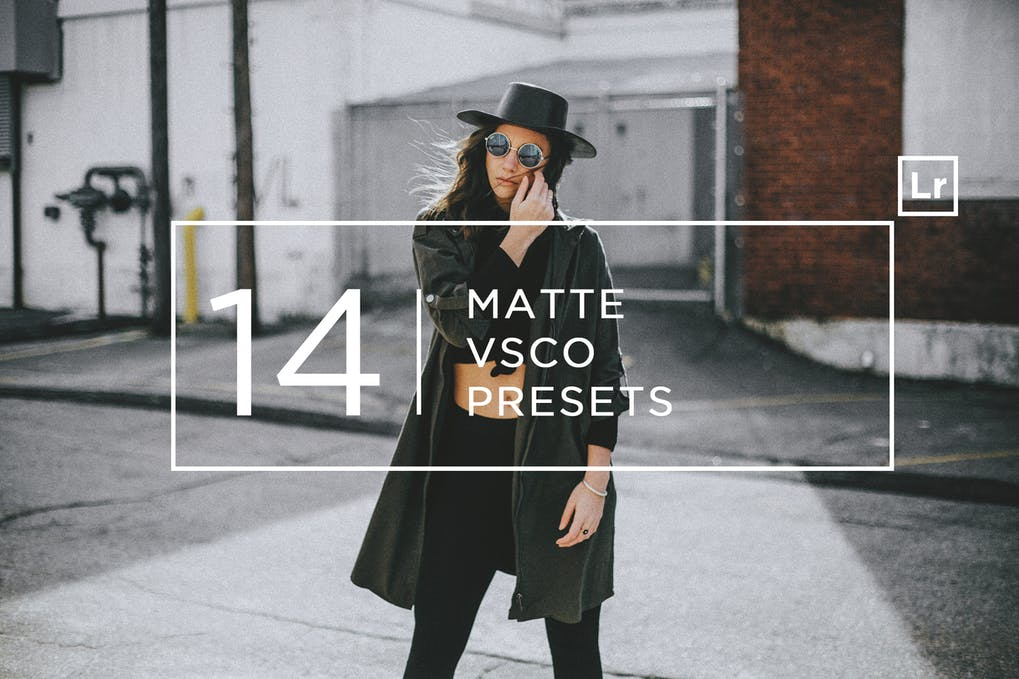 Download Free 14 Matte + VSCO Lightroom Presets
