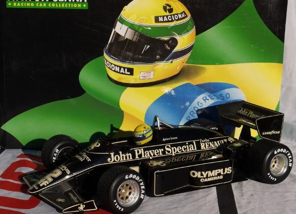 1985 Minichamps JPS Lotus 97T A.Senna -1-12