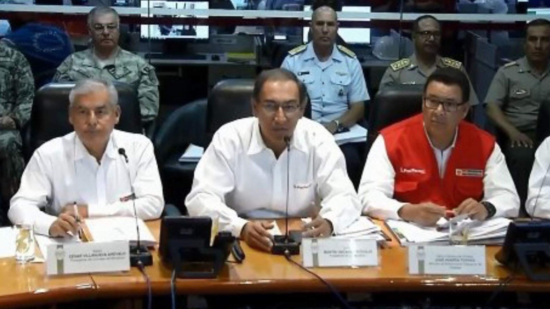 Vizcarra: cada ministro estará a cargo de una región afectada por lluvias