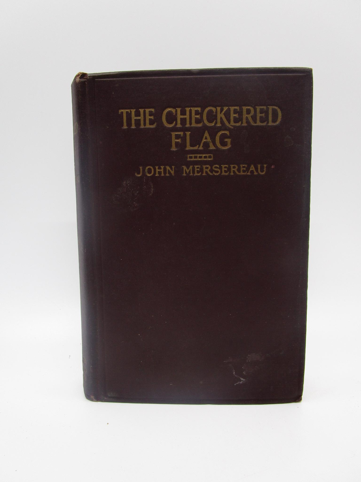 Image for The Checkered Flag (First Edition)