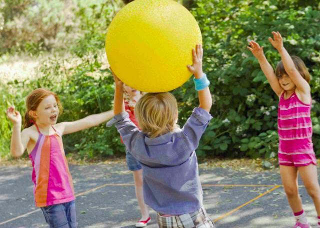 Подвижные игры для детей 5 лет в детском саду