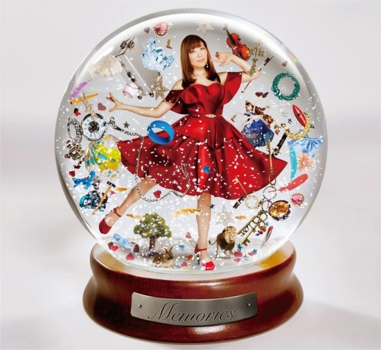 "[Album] Minami Kuribayashi – Anison Best Album ""Memories"""