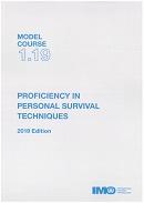 Model course 1.19: Proficiency in personal survival techniques