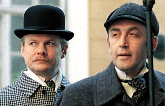 Все ли фильмы Вы узнаете по фото? Это старое доброе советское кино, такого The-Adventures-of-Sherlock-Holmes-1