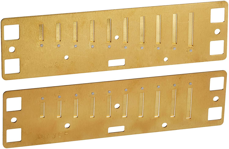 Juego de lengüetas para armónica diatónica