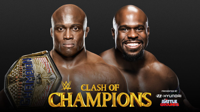 Bobby Lashley (c) vs. Apollo Crews