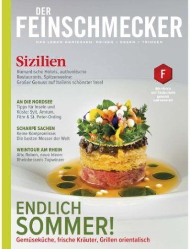 Cover: Der Feinschmecker Magazin No 08 2021