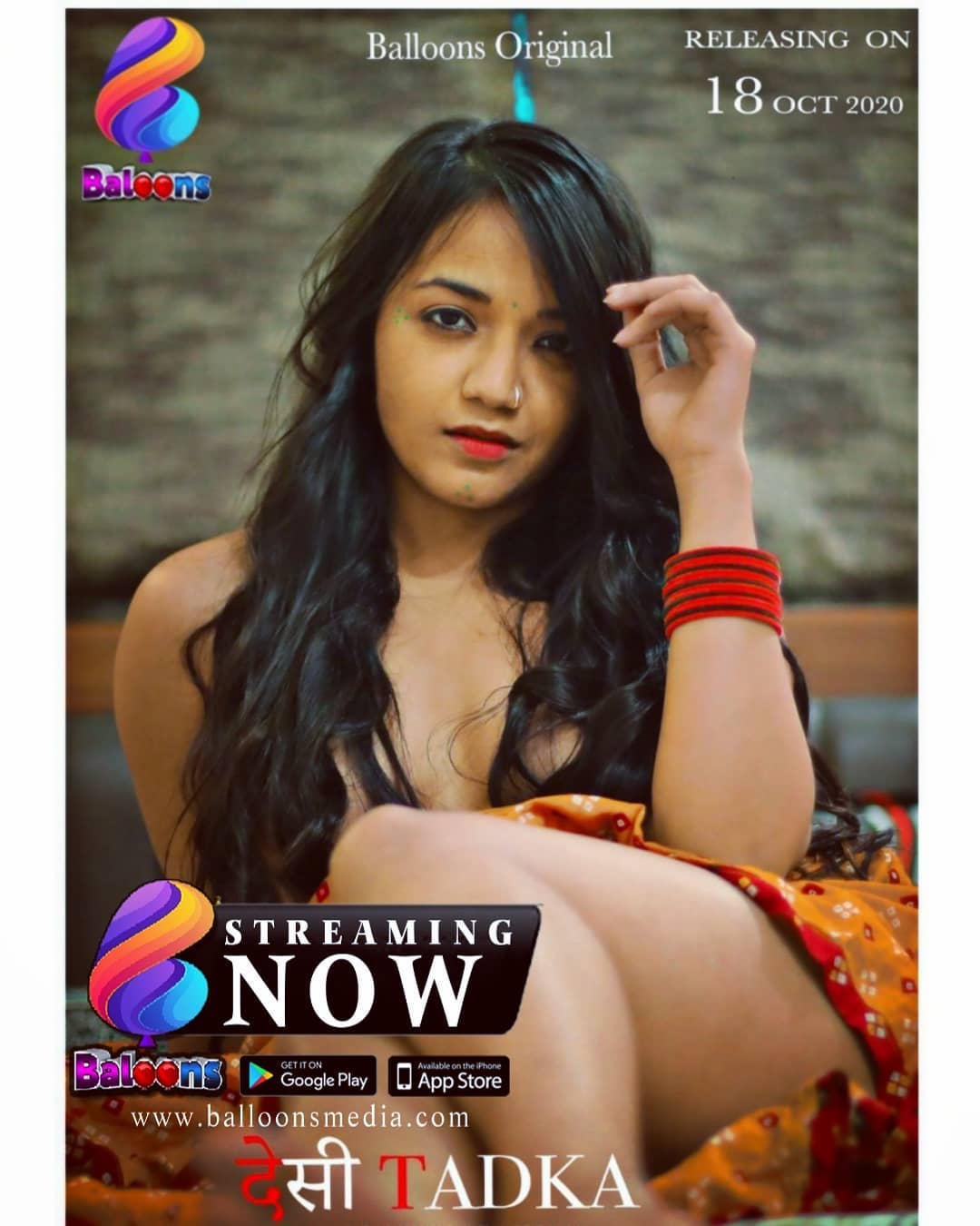 18+ Desi Tadka 2021 S01-02 Hindi Balloons Complete Web Series 720p HDRip 800MB Download