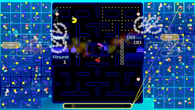 「Nintendo Switch Online」加入者限定特典 「PAC-MAN」99人大逃殺殊死戰《PAC-MAN 99》繁體中文版即日起免費發布 03