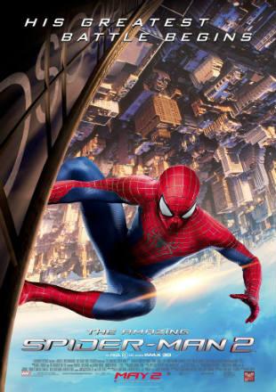 The Amazing Spider Man 2 (2014) Hindi Dual Audio 480p BluRay x264 ESubs 450MB