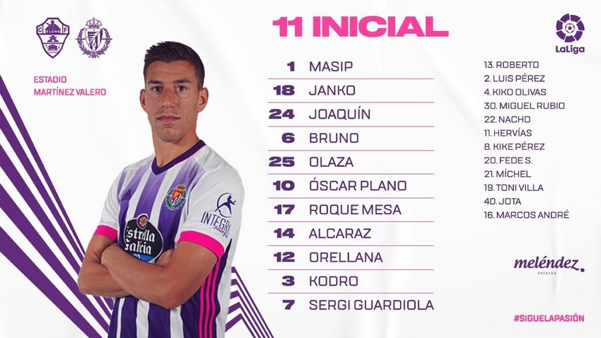 Elche C.F. - Real Valladolid C.F. Miércoles 21 de Abril. 21:00 - Página 2 OnceElx