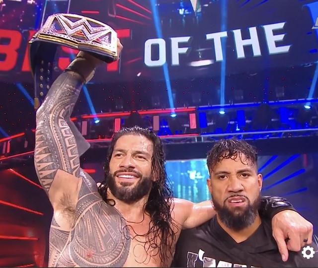 Roman Reigns derroto a Drew McIntyre