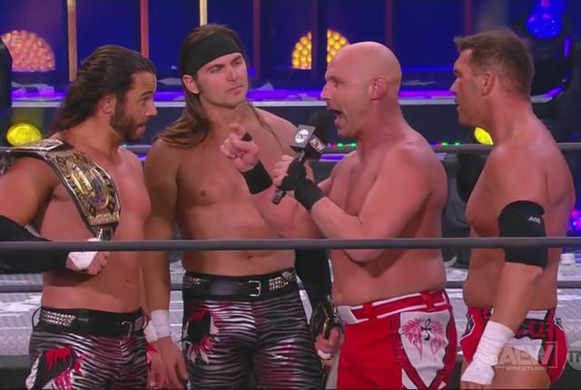 Young Bucks y SCU vencieron en AEW New Years Smash