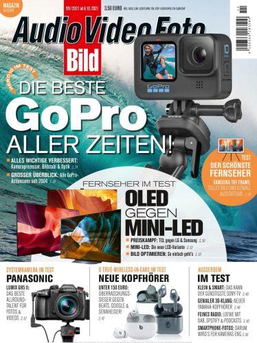 Cover: Audio Video Foto Bild Magazin No 11 2021