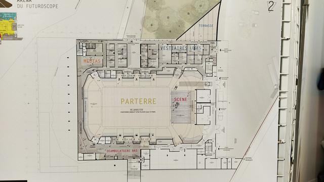 « Arena Futuroscope » grande salle de spectacles et de sports · 2022 - Page 9 Plan
