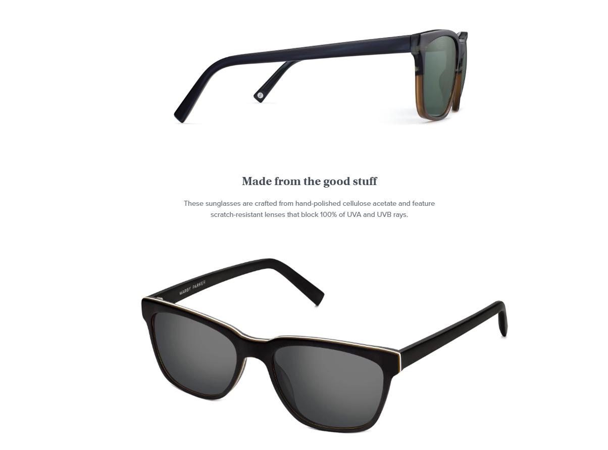 036001d25ba Warby Parker Sunglasses BARKLEY WIDE POLARIZED NEW UNISEX Classic ...
