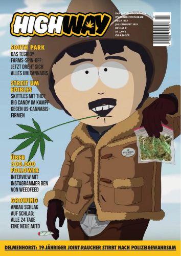 Cover: Highway Das Cannabismagazin No 04 Juli-August 2021