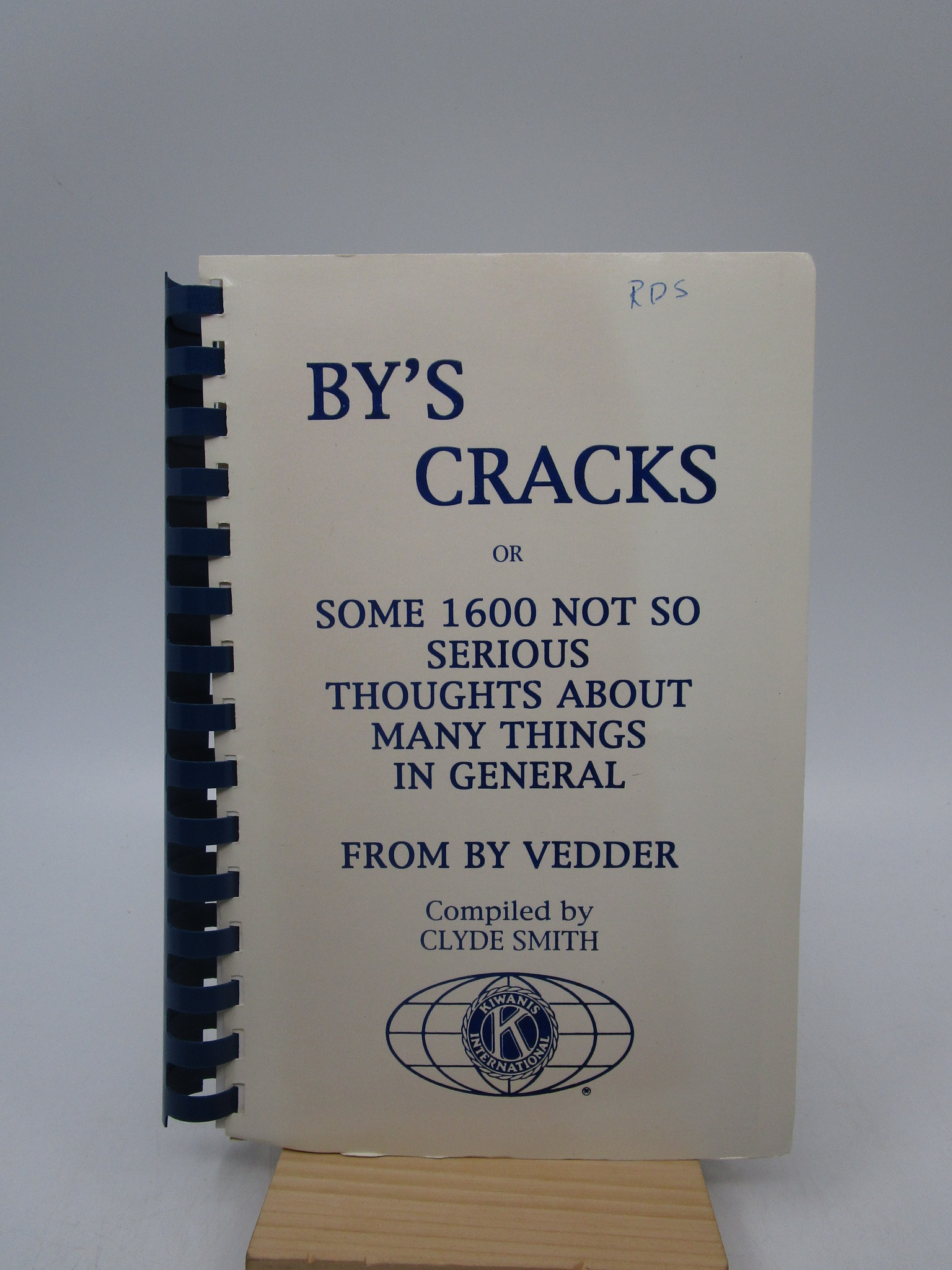 Image for By's Cracks or Some 1600 Not So Serious Thoughts About Mnay Things in General