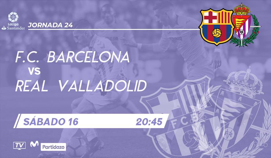 F.C. Barcelona - Real Valladolid. Sábado 16 de Febrero. 20:45 - Página 2 BCN-RVA