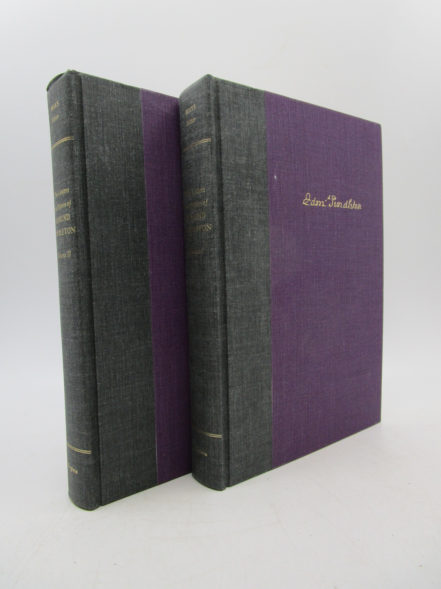 Image for The Letters and Papers of Edmund Pendleton (1734-1803) - Two Volume Set