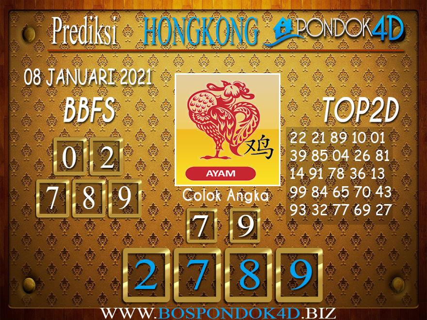 Prediksi Togel HONGKONG PONDOK4D 08 JANUARI 2021