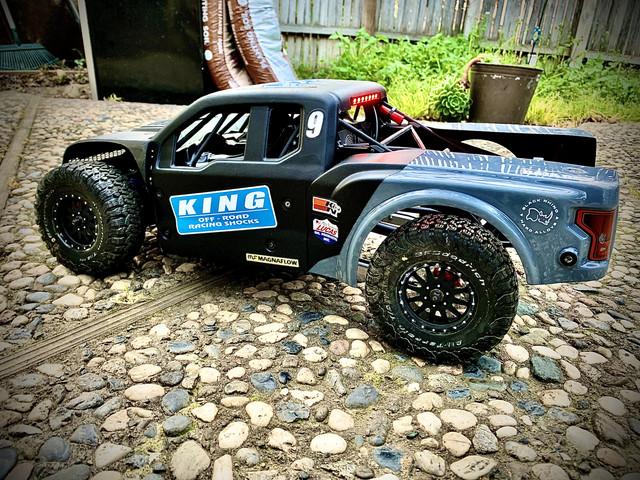 Losi Baja Rey 4WD Desert Truck LOS334005 Aluminum Front Shock Tower Baja Rey