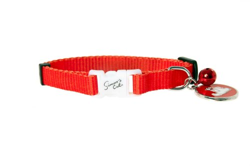 Karlie K Simons Cat Collar Gato 100Mmx31Cm, Rojo 150 ml