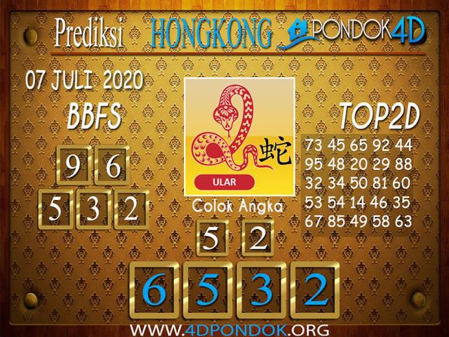 Prediksi Togel HONGKONG PONDOK4D 07 JULI 2020