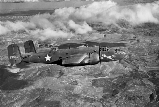 B 25 Mitchell 42 53451 12 AF over Italy