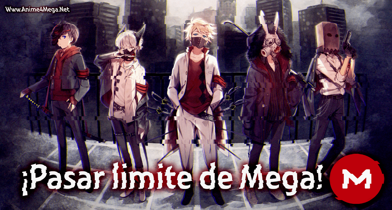Portada Anime para el tutorial de Pasar Limite de Mega