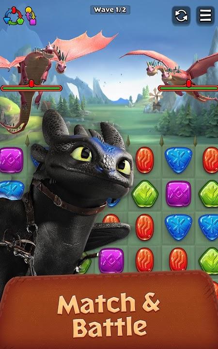 Dragons: Titan Uprising (MOD, GOD MODE/ONE HIT)