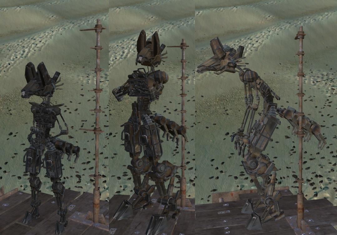 NewSkeletonRace - Skeleton F-0X / Новая раса скелета - Скелет F-0X (RU)