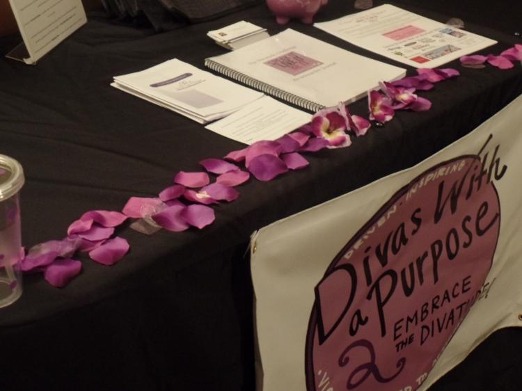 Table Set Up at Community Vendor Event