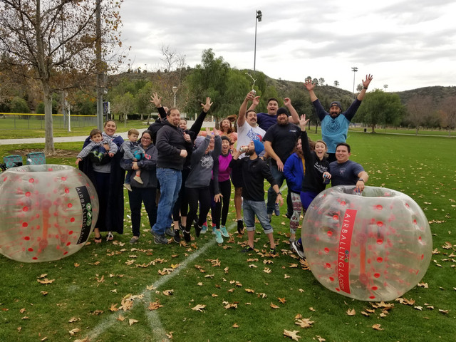 Bubble Soccer and Archery Tag in Santa Clarita host by AirballingLA
