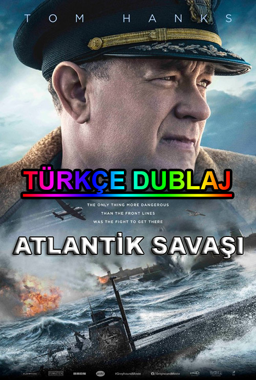 Atlantik Savaşı | Greyhound | 2020 | WEB-DL | XviD | Türkçe Dublaj | m720p - m1080p | WEB-DL | Tek Link