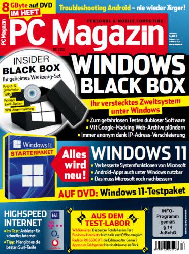 Cover: Pc Magazin No 10 2021