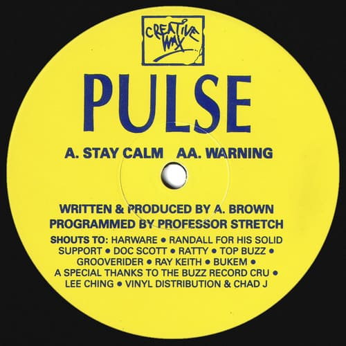 Download Pulse - Stay Calm / Warning mp3