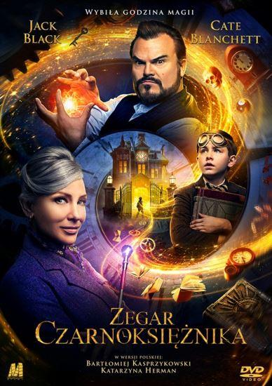 Zegar czarnoksiężnika / The House with a Clock in its Walls (2018) PLDUB.AC3.DVDRip.XviD-GR4PE   Dubbing PL