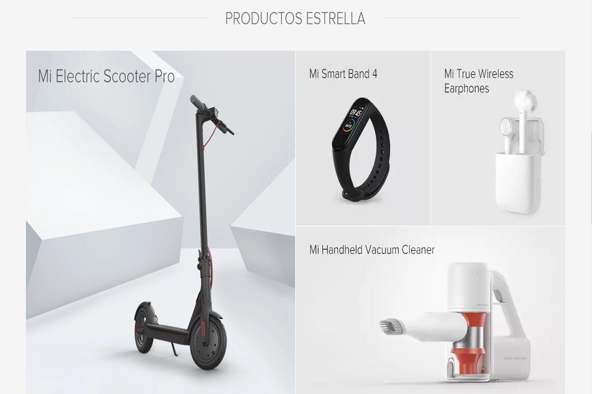 The best products of the brand Xiaomi
