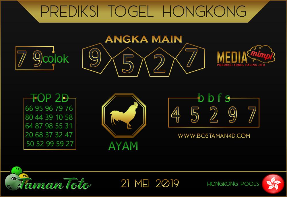 Prediksi Togel HONGKONG TAMAN TOTO 22 MEI 2019