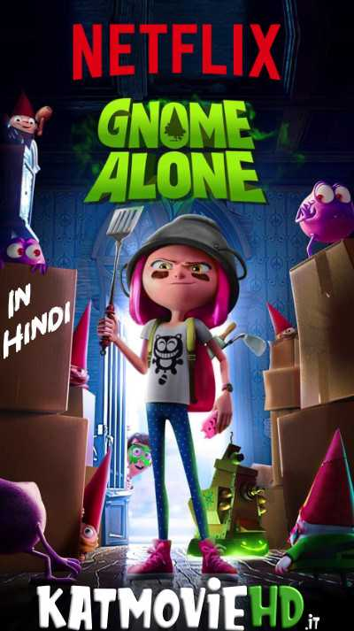 Gnome Alone (2017) WEB-DL 720p 480p Dual Audio [In Hindi 5.1 + English]