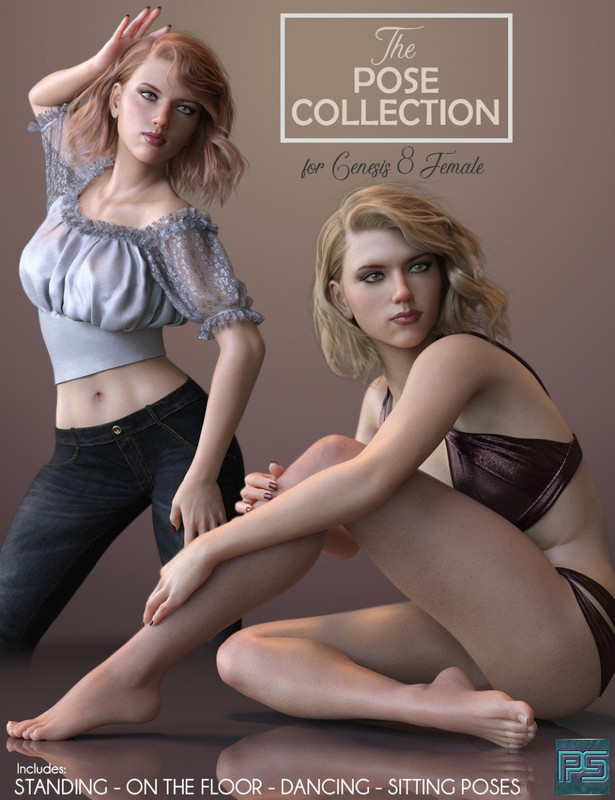 The Pose Collection for Genesis 8 Female