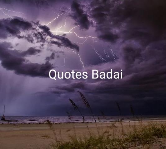 Kumpulan Kata-Kata Bijak dan Quotes Badai, Cobaan Hidup dan Badai Cepat Berlalu