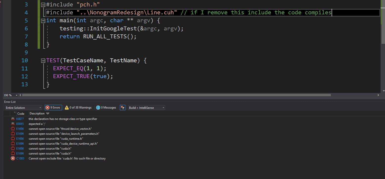 cuda in unit test - NVIDIA Developer Forums