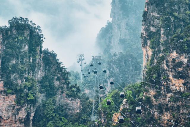 Scenic-Zhangjiajie-Grand-Canyon-Plus-Tianmen-Cave-Tianzi-Mountain