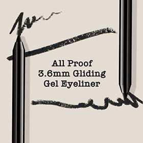 3.6mm Soft gliding long lasting eyeliner.