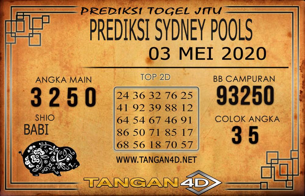 PREDIKSI TOGEL SYDNEY TANGAN4D 03 MEI 2020