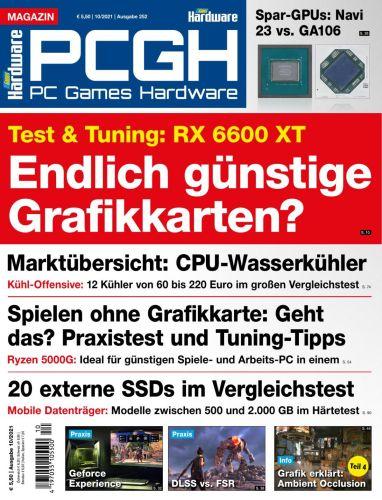 Cover: Pc Games Hardware Magazin No 10 2021